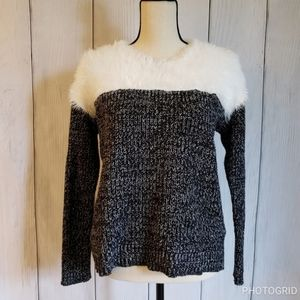 Vince Camuto Fuzzy Sweater